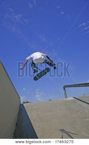 Young Adults Skateboarding in a Skate Park