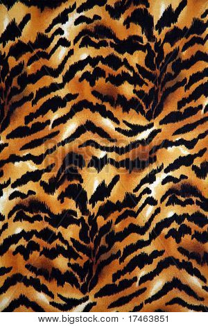 Tiger Animal Print Background