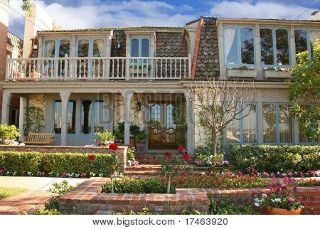 Beautiful Beach Front Home in California