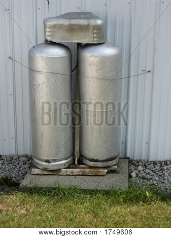 Gas Tanks Or Cylinders