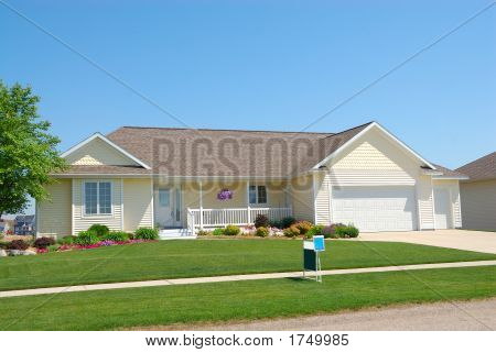 gehobene Wohnhaus