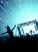 stock photo of rock star  - rock concert - JPG
