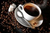 picture of coffee-cup  - cup of coffee - JPG