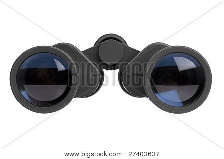 Binocular Lenses With Black