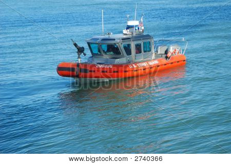 Coast Guard On Patrol