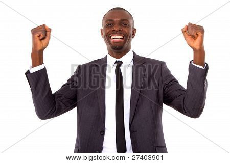 Businessman Rejoices In Office