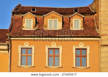 Brasov Architecture Detail, Romania
