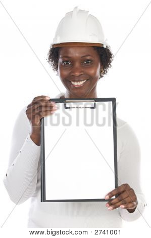 African American Engineer Woman