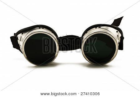 Shiny Metallic Protective Eyewear Glasses