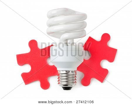 Lamp And Puzzle