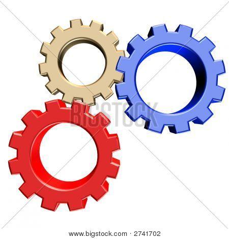 Multicolored Gears