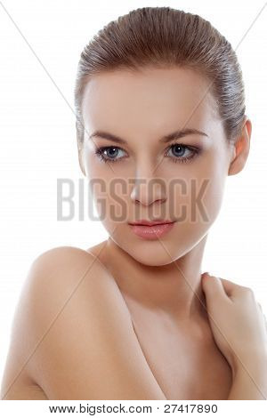 beautyful  woman face