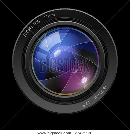 Lente foto