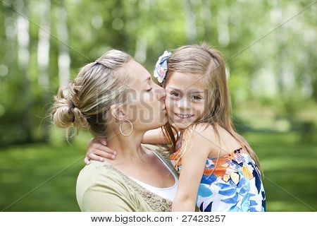 A mother's Love and Care for her Daughter