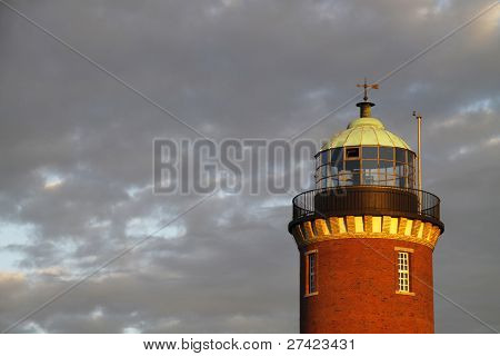 The Lighthouse In Cuxhaven (lower Saxony, Germany)