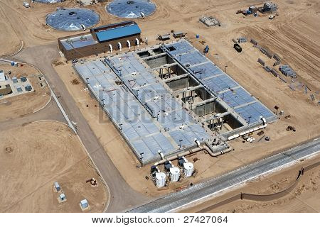 Construction at Water Reclamation