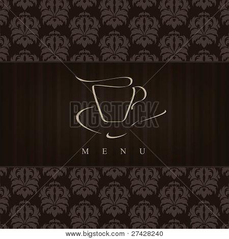 Vector. Restaurant or coffee house menu design
