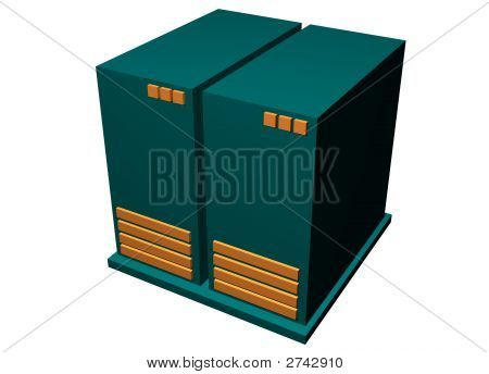 Server Mainframe Hardware