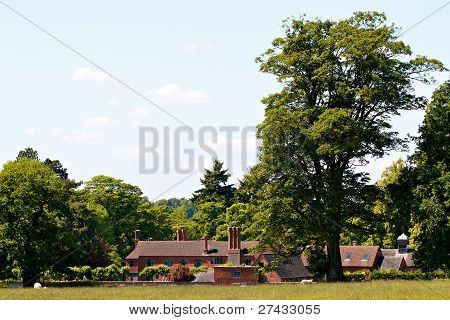 English Country  House Outbuildings