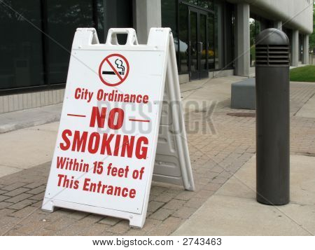 No Smoke Sign