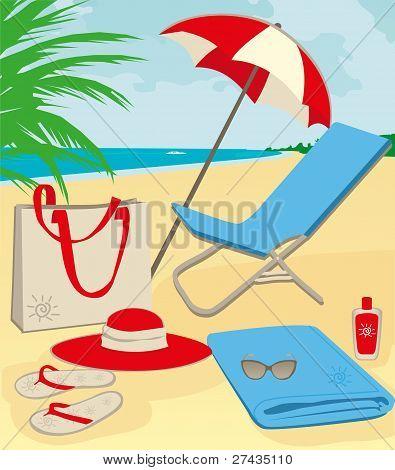 coisas de praia