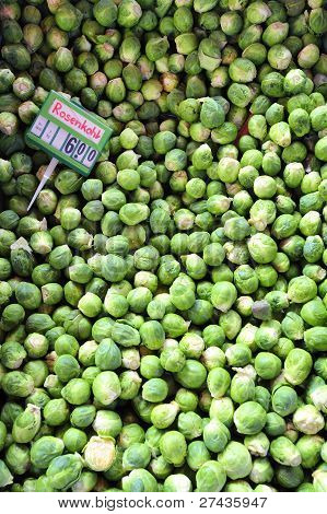 Brussels Sprouts For Sale