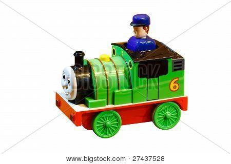 Children Colored Toy Train