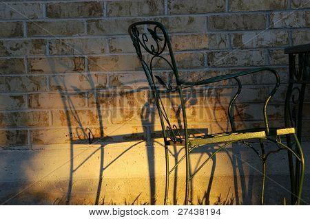 Steel Chair