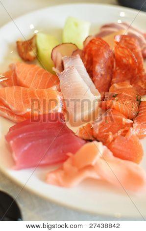 Seafood Sashimi Set