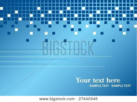 Abstract checked vector background
