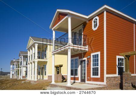 Casas nuevas en construcciones