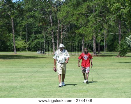 Diverse Golfers