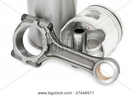 Detalles del motor Diesel
