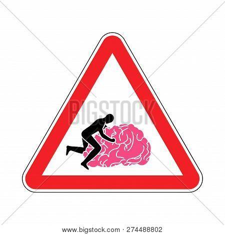 Fuck Brain Attention Caution Fucking