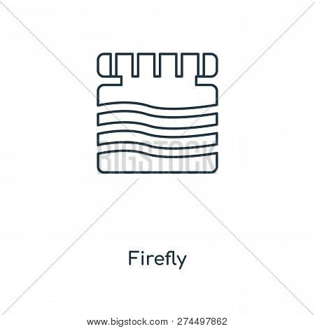 Firefly Icon In Trendy Design