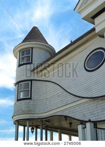 Casa de playa victoriano curvas