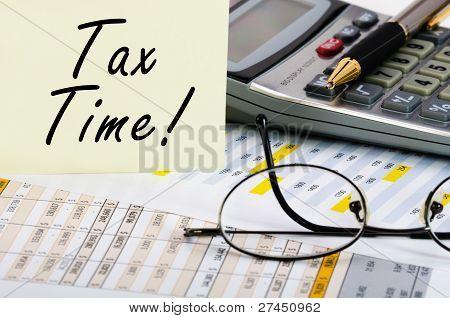 steuerliche Zeit
