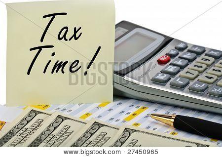 steuerliche Zeit!