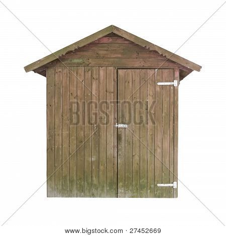 Rusty Wooden Shed