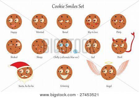 Coockie smiles set