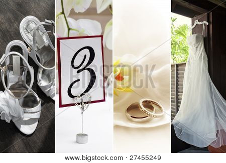 cuatro fotos