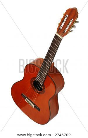 Guitar Acoustic Isolated