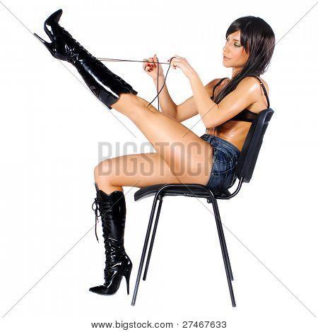 rocker on a chair