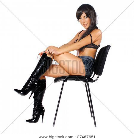 rocker on a chair
