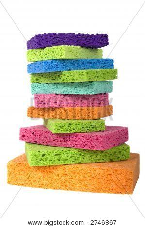 Multicolor Sponges