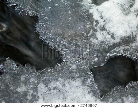 Einfrieren von Wasser