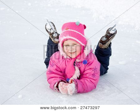 The Girl In The Skate On The Ice.