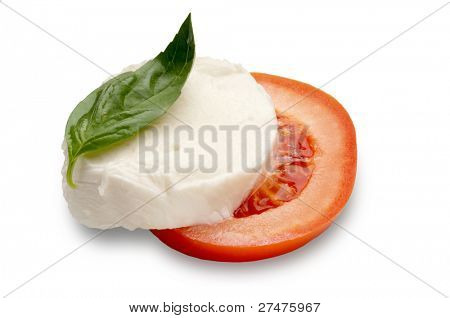 sliced mozzarella