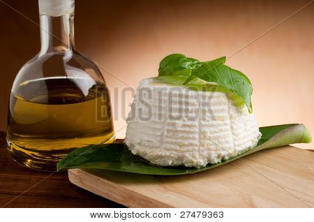 ricotta with olive oil