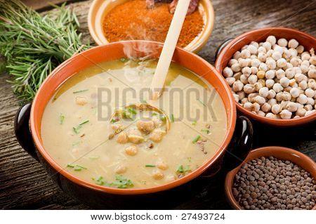 Harira tradicional receta del Magreb